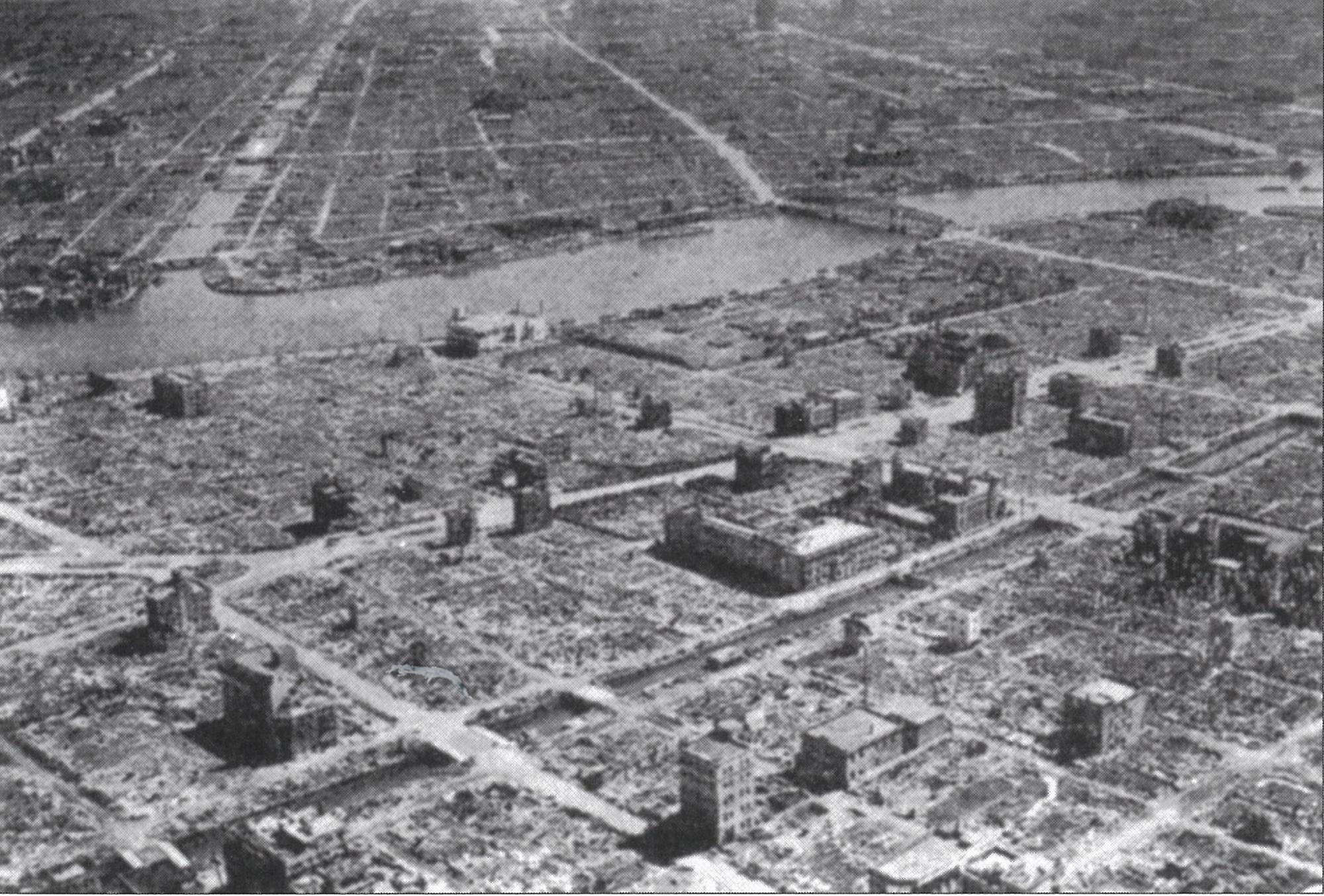 焼け野原となった錦糸町