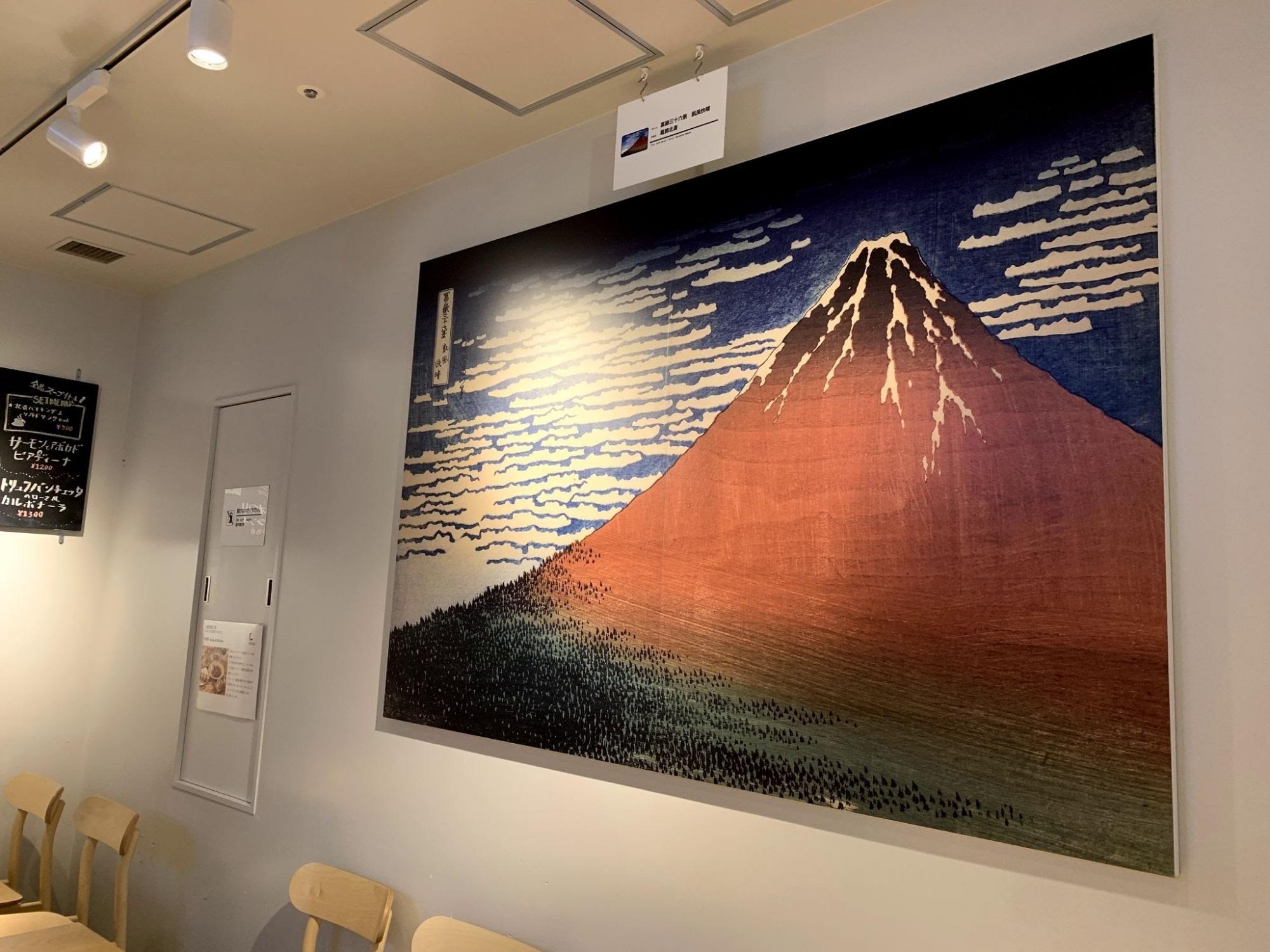 北斎のあの富士山の浮世絵