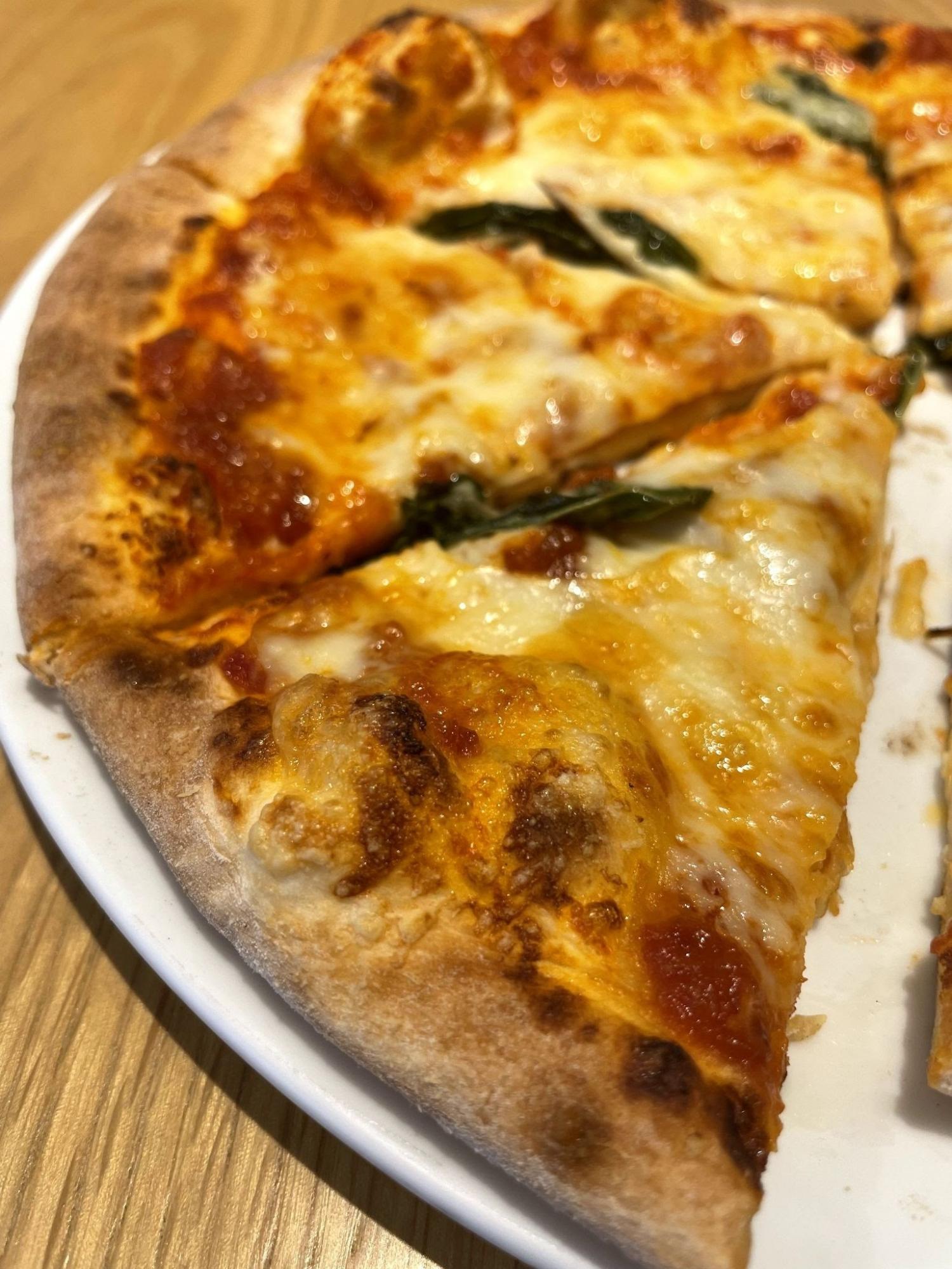 めっちゃ美味しいピザ。