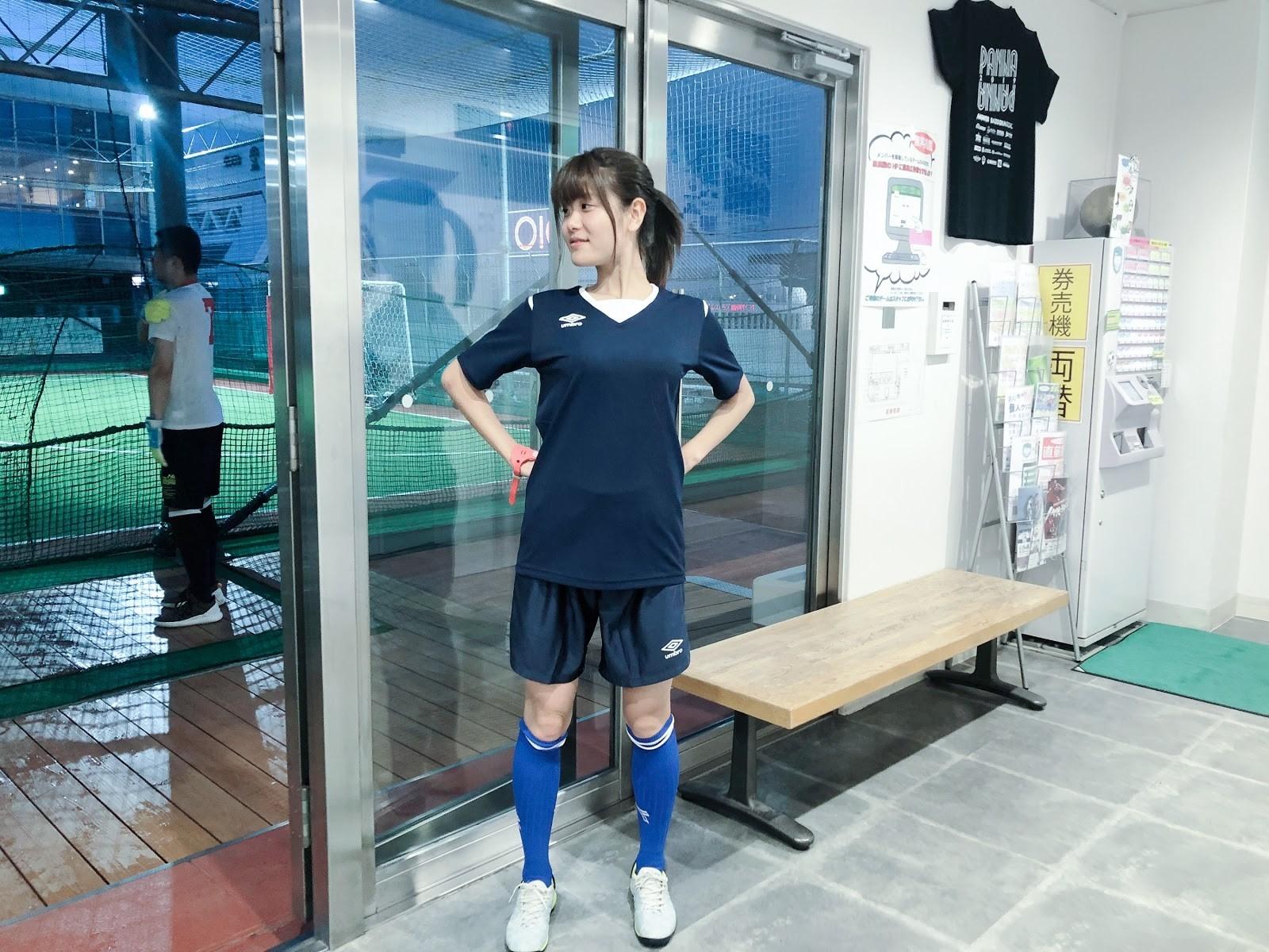 紺色のサッカーユニフォーム!