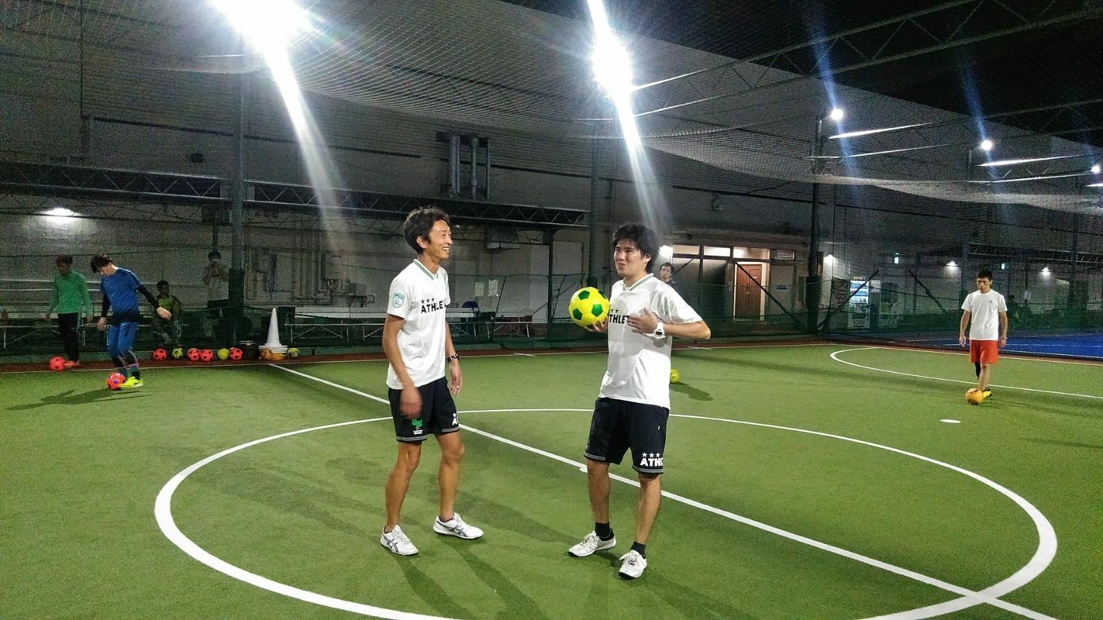 コーチのお二人。